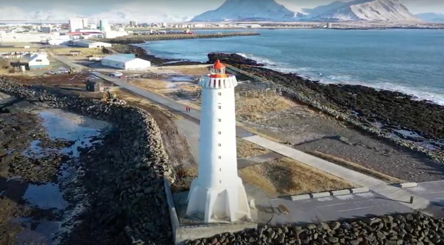 Iceland tour 2022 Akranes Lighthouse