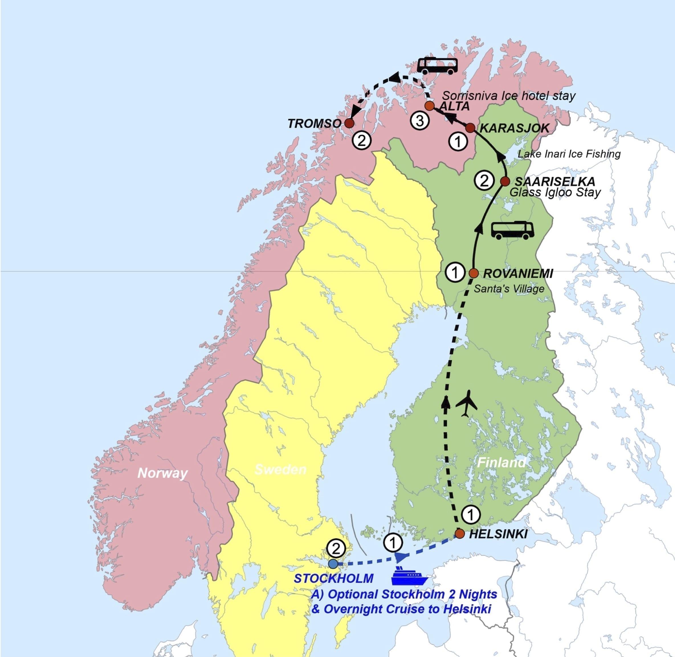 2022 Northern Lights Tour Mao