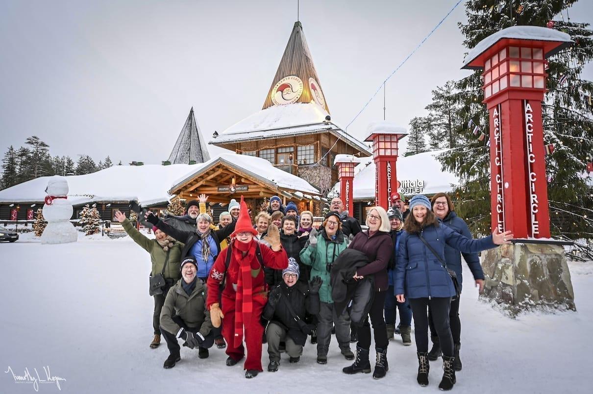 Northern Lights Santa Tour 2021