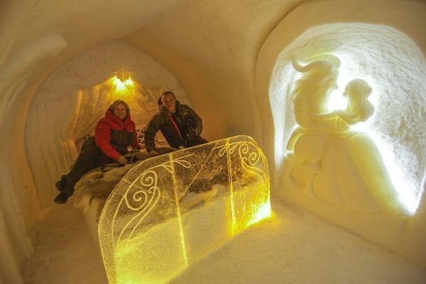 Northern Lights Ice Hotel Tour 2021