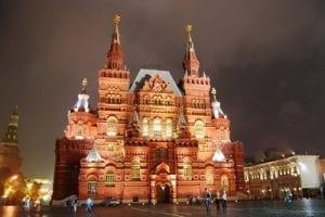 Russia Red Square Tour 2021