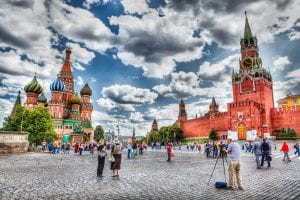 Moscow Russia Tour 2021