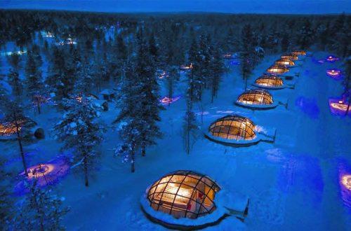 Northern Lights Glass Igloos 2023