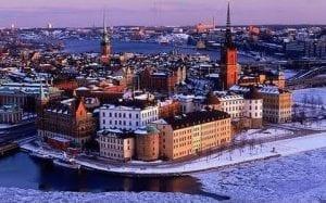 Stockholm Northern Lights 2021