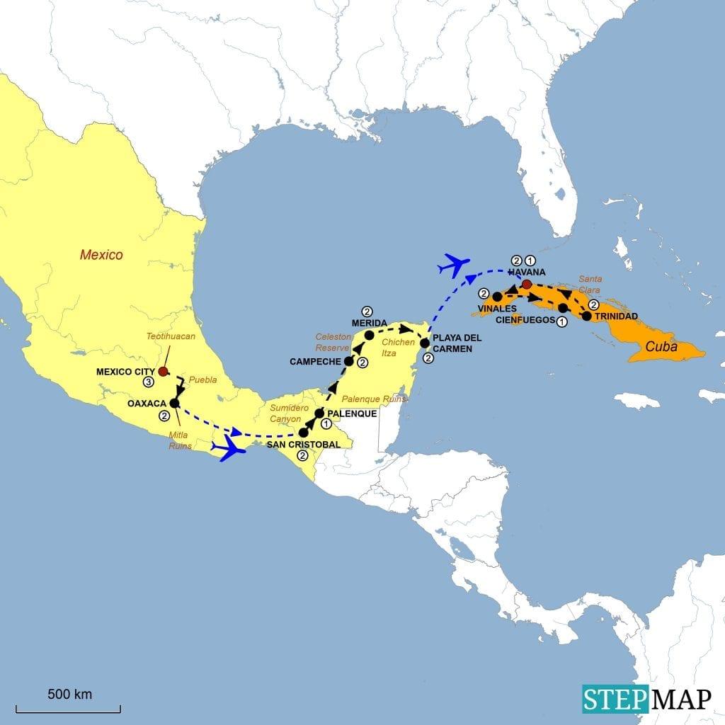 Mexico Tour 2022
