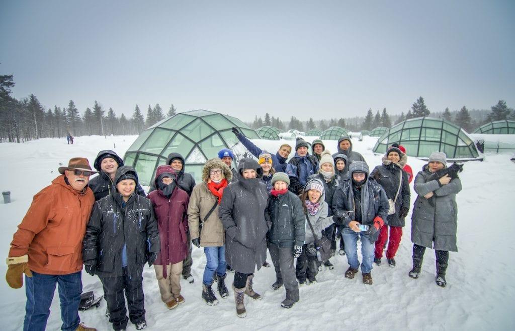 Northern Lights Glass igloos Tour 2021